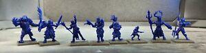 8x D&D / Pathfinder Hero or NPC Miniatures Lot (USED)