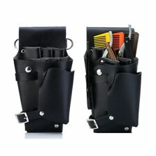 Barber Hair Scissors Bag Hairdressing Tool Holster Special Purpose Pouch Leather