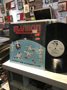 Mankin ~ A Toast For Jus' Mannequin ~ LP ~ 1985 ~ Metal ~ 1st Press ~ Mutha