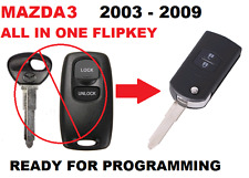 MAZDA 3  RX8 Remote FLIP KEY Ready for programming Transponder Car key 41521- T2