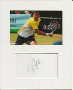 Tommy Haas tennis signed genuine authentic autograph signature AFTAL COA
