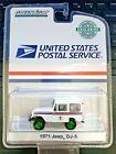 Green Machine 29997 USPS 1971 Jeep DJ-5 White 1:64 Scale Greenlight CHASE