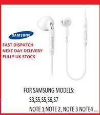 For SAMSUNG GALAXY S7 EDGE & VARIOUS 100% GENUINE EARPHONES HEADPHONES HANDSFREE