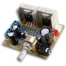 DIY Kit 2.0 double canal TDA2030A Module de puissance Amplificateur BA