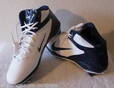 NEW Nike Alpha Talon Elite D Mens Football Cleats 14.5 White/Navy MSRP$120