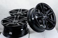 14x6 Black Wheels Rims Integra Aveo Geo Prizm Neon Escort Civic Accord Miata (4)