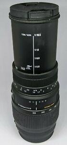 Canon EOS DSLR fit Sigma DG 70-300mm Zoom Lens AF EF - Used