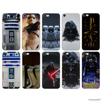 Star Wars Coque/Etui/Case pour Apple iPhone 5/5s/SE/6/6s/7 / Silicone Gel TPU