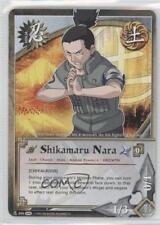 2010 Naruto Collectible Card Game: Fangs of the Snake #886 Shikamaru Nara 0l2