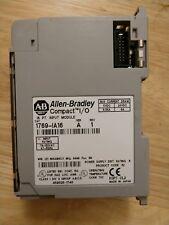 ALLEN BRADLEY 1769 IA16 Compact I/O 115 VAC AC Input Module