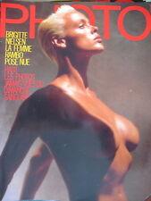 magazine PHOTO N° 244 BRIGITTE NIELSEN NUE BETTINA RHEIMS BARRY LATEGAN 1988
