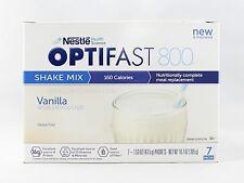 NEW FORMULA | OPTIFAST® 800 POWDER SHAKES | VANILLA | 6 BOXES | 1/2 CASE