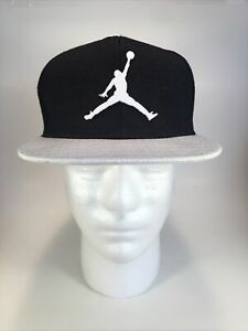 Air Jordan Hat SnapBack Youth One Size  Black And White Jumpman 23 Adjustable