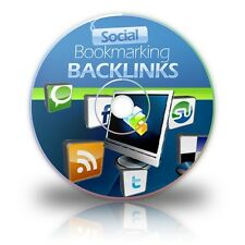 Social Bookmarking Backlinks Video Tutorials on 1 CD