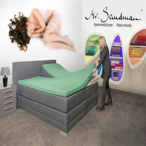 Mr. Sandman - Elastan Classic, Spannbetttuch / Bettlacken nur für Topper!!