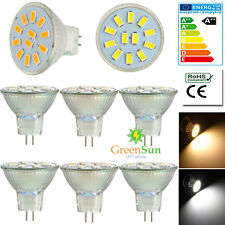MR11 GU4 2W 3W 4W 9/12/15 LED 5733 SMD Ampoule Lampe Spot Bulb Light AC/DC12-30V
