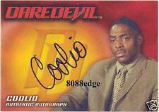 DAREDEVIL MOVIE AUTOGRAPH AUTO CARD: COOLIO as DAUNTE JACKSON - RAPPER/ACTOR