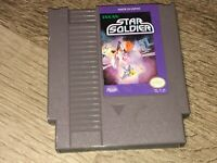 Star Soldier Nintendo Nes Cleaned & Tested Authentic