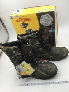 Herman Survivors Men's Waterproof Thinsulate Camo Hiking/Hunting Boot Size 13