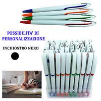 60 Penne A Sfera Personalizzabili Cancelleria Scuola Ufficio Inchiostro Nero 931
