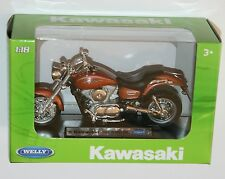 Welly - '02 KAWASAKI VULCAN 1500 MEAN STREAK Motorbike Model Scale 1:18