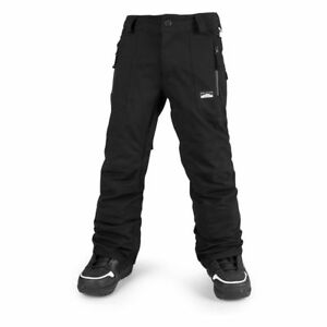 NWT Volcom Boys Datura Snowboard Pant Pants L Large 12Y Kids BLK 15K oa319