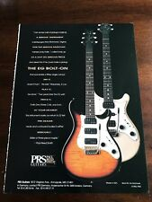 1994 8X11 PRINT Ad for PRS PAUL REED SMITH GUITARS THE EG BOLT-ON