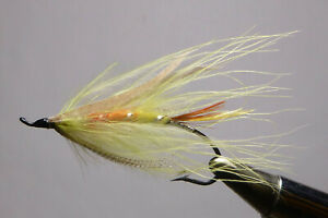 """""""HAL JANSSEN COLLECTION """" VINTAGE SALMON FLY TIED BY BOB SCHIERHOLZ"""