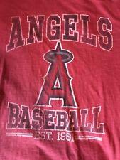 California Angels Los Angeles Banner '47 Baseball Red Medium M 2009