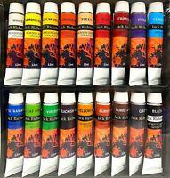 New JACK RICHESON 18 Colours x 12ml Gouache Paint Tubes Set Painting Art Artists