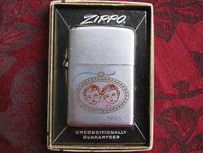 Zippo Lighter 1956 Advertising Koester's Twins Bread, w/Box