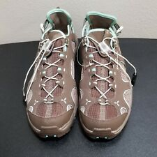 New Salomon Brown / Teal Contagrip Heel Strap Water Shoes 145464 Women's Sz 9