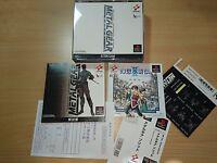 Metal Gear jeu konami PS1 import jap