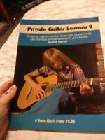 Private Guitar Lessons 2 BobBaxter Step by Step Instruction 1977 instructional