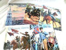 5 CONFEDERATE VETERAN HISTORICAL MAGAZINES