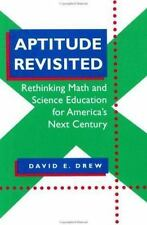 Aptitude Revisited: Rethinking Math and Science Education for America'-ExLibrary