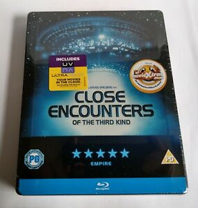 Close Encounters Of The Third Kind - Blu ray steelbook - New and sealed