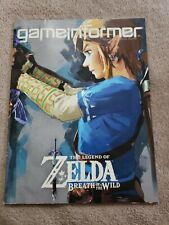 Game Informer Magazine March 2017 The Legend Of Zelda Breath Of The Wind