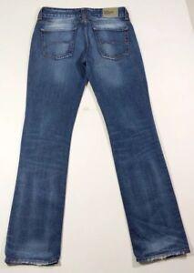 Tommy Hilfiger Dash Distressed 100% Cotton Old School Blue Jeans W30 L34