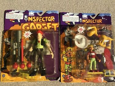 Vintage Tiger 1992 Inspector Gadget Lot Penny  Brian And Mad Agent