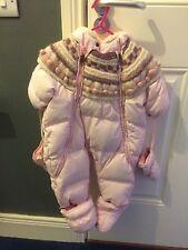 Ugg Baby Girls Snowsuit 12M Nowt