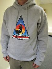 STAR WARS CONVENTION GREY MENS HOODY XL (NEW) Sweater/Top/Jumper/Sweatshirt RARE