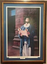 "STEVE L. CLEMENT ""THE SPIRIT OF THE LORD IS UPON ME"" LUKE 4: 16-21 SIGNED"