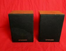 Vintage PIONEER CS-X300-Q Surround Sound Speakers - Bookshelf Small Pair Tested