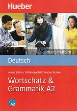 HUEBER Deutsch Uben WORTSCHATZ & GRAMMATIK A2 @New Book@