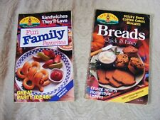 2 Cookbooks Land O Lakes Family Favorites Quick Fancy Breads bread machine recip