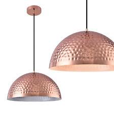 [lux.pro]® Lampadario metallo rame lampada a pendolo sospensione plafoniera