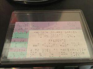 "Super Rare WWF Ticket Stub ""Diesel Wins Title"" 1994 Wrestling MSG WWE KLIQ HBK"