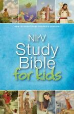 NIRV Study Bible for Kids by Zondervan (2015, Hardcover)