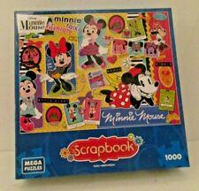 Disney Minnie Mouse Scrapbook Puzzle 1000 Pieces New Sealed